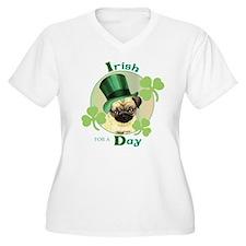 St. Patrick Pug T-Shirt