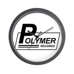Polymer Records Wall Clock