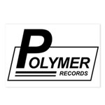 Polymer Records Postcards (Package of 8)