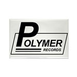 Polymer Records Rectangle Magnet (100 pack)