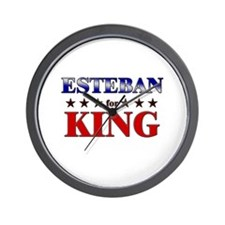 ESTEBAN for king Wall Clock