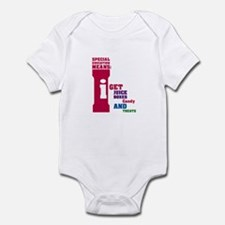 Special Education Means: Juice Boxes Infant Bodysu