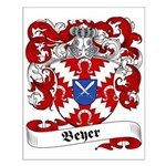 Beyer Family Crest Small Poster