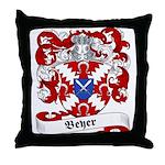 Beyer Family Crest Throw Pillow
