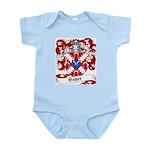 Beyer Family Crest Infant Creeper