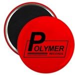 "Polymer Records 2.25"" Magnet (100 pack)"