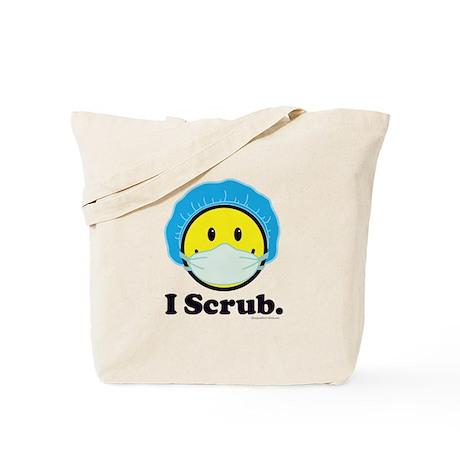 I Scrub Surgical Tech Tote Bag