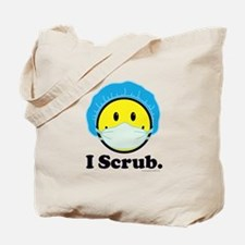 I Scrub Surgical Tech Tote Bag