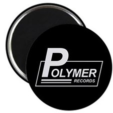 """Polymer Records 2.25"""" Magnet (10 pack)"""
