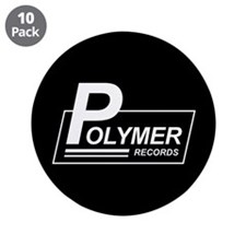 """Polymer Records 3.5"""" Button (10 pack)"""