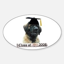 Leonberger Grad 08 Oval Decal