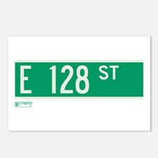 128th Street in NY Postcards (Package of 8)