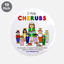 """I Help CHERUBS"" Nurse Penny Logo Character 3.5"" B"