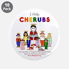 """""""I Help CHERUBS"""" Doctor Vincent Logo Character 3.5"""