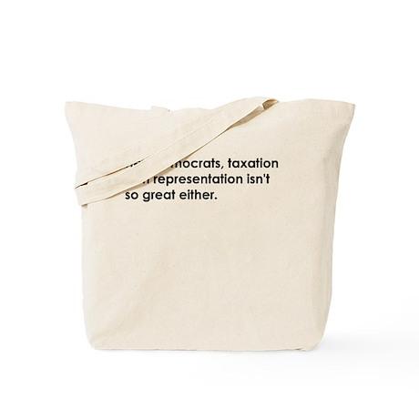 Democrats are Evil - Tote Bag