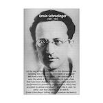 Erwin Schrodinger: Physics Mini Poster Print