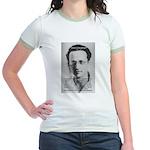 Erwin Schrodinger: Physics Jr. Ringer T-Shirt