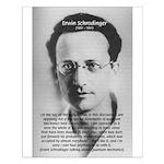 Erwin Schrodinger: Physics Small Poster