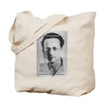 Erwin Schrodinger: Physics Tote Bag
