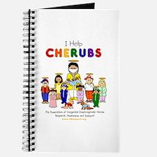 """""""I Help CHERUBS"""" Doctor David Logo Character Jour"""