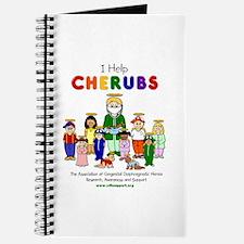 """I Help CHERUBS"" Doctor Jay Logo Character Journal"