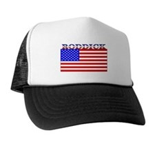 Roddick American Flag Trucker Hat