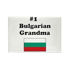 #1 Bulgarian Grandma Rectangle Magnet