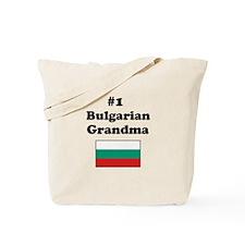 #1 Bulgarian Grandma Tote Bag