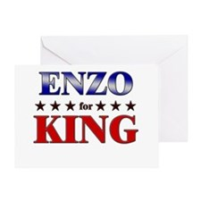 ENZO for king Greeting Card