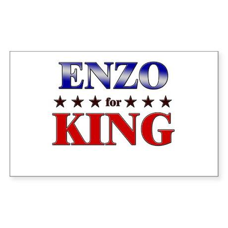 ENZO for king Rectangle Sticker