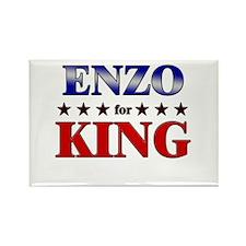 ENZO for king Rectangle Magnet