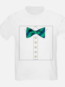 green bow tie tuxedo T-Shirt