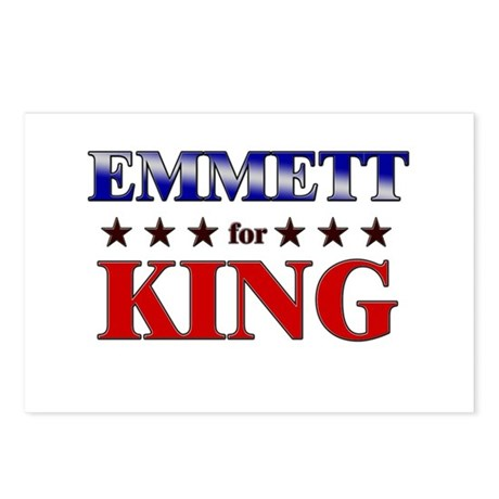 EMMETT for king Postcards (Package of 8)