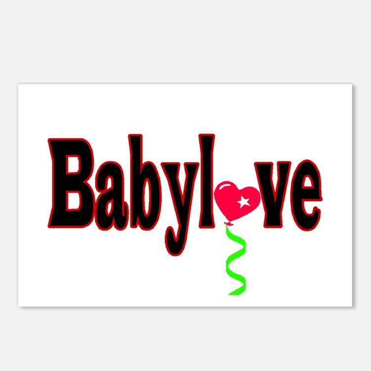 Babylove Postcards (Package of 8)