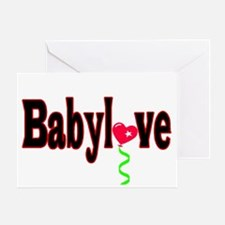 Babylove Greeting Card