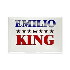 EMILIO for king Rectangle Magnet