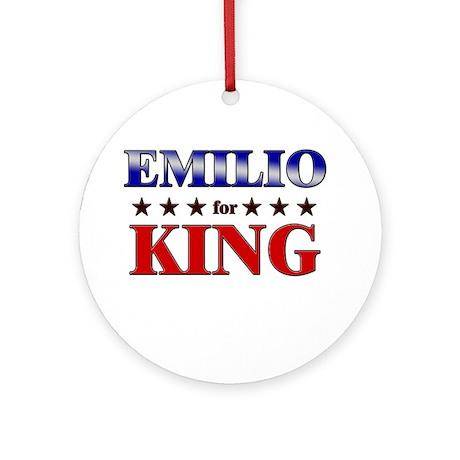 EMILIO for king Ornament (Round)