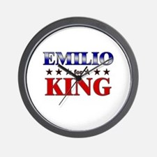 EMILIO for king Wall Clock