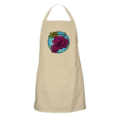 PURPLE GRAPES BBQ Apron