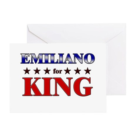 EMILIANO for king Greeting Card