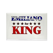 EMILIANO for king Rectangle Magnet