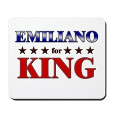 EMILIANO for king Mousepad