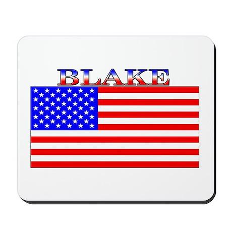 Blake USA American Flag Mousepad
