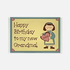 New Grandma Birthday Rectangle Magnet