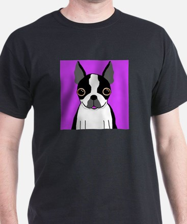 Boston Terrier (Black) T-Shirt