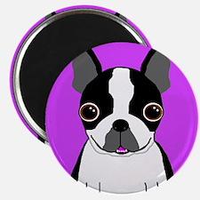 """Boston Terrier (Black) 2.25"""" Magnet (10 pack)"""