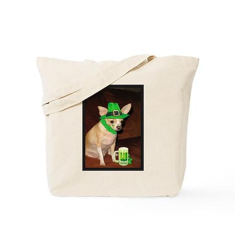 Irish Chihuahua Tote Bag