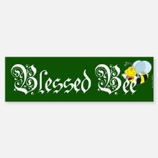 Blessed Bee - Wicca Bumper Bumper Bumper Sticker
