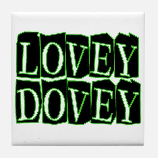 Lovey Dovey Tile Coaster