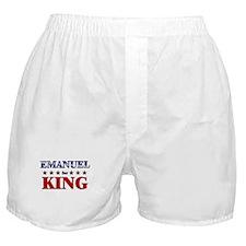 EMANUEL for king Boxer Shorts